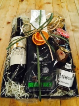 Classic Festive Gift tray with Wine
