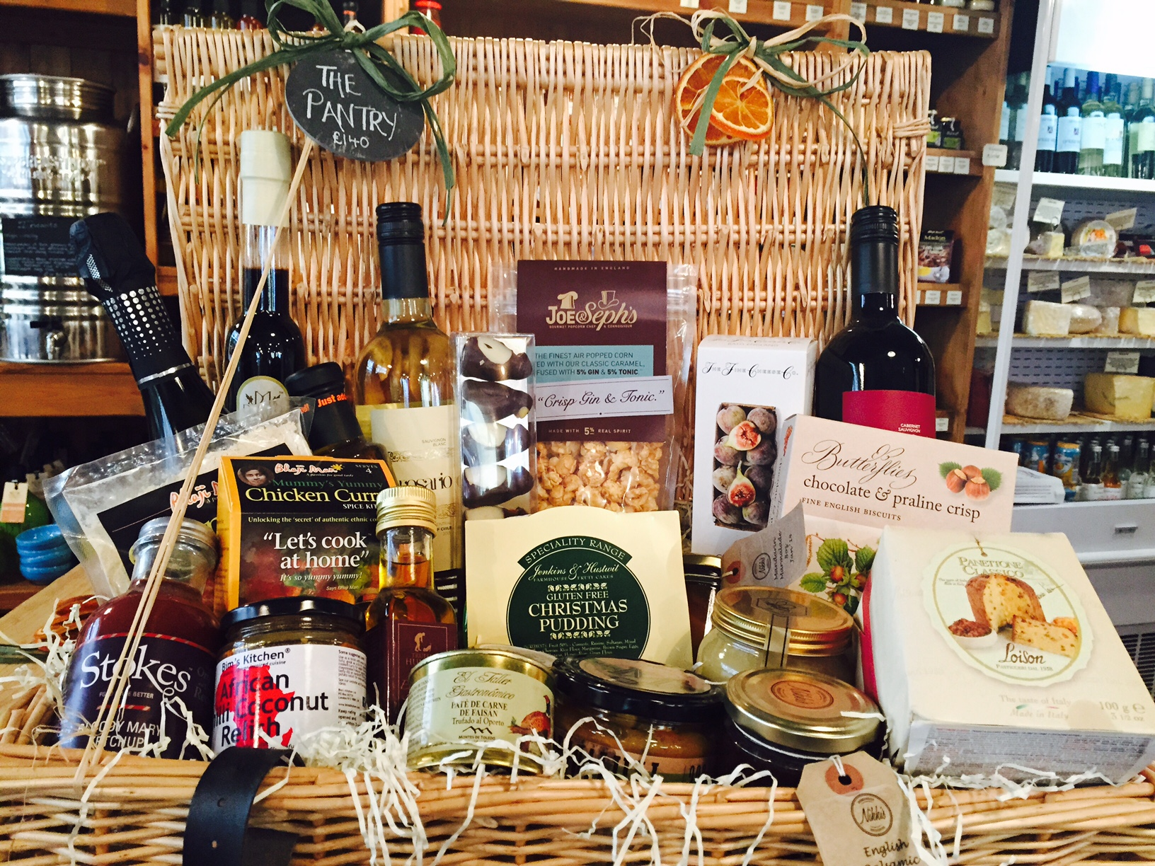 The pantry christmas hampers 2014 the pantry newmarket order now by calling nikki or anne marie on 01638 661181 or emailing us at pantrynewmarketgmail negle Gallery
