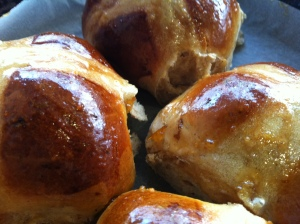 Get your hands on some of our home made hot cross buns this Easter...