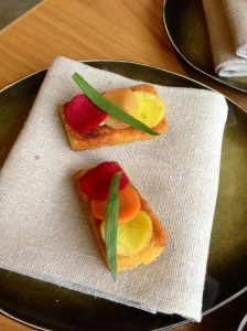Just one of our pre-menu treats!