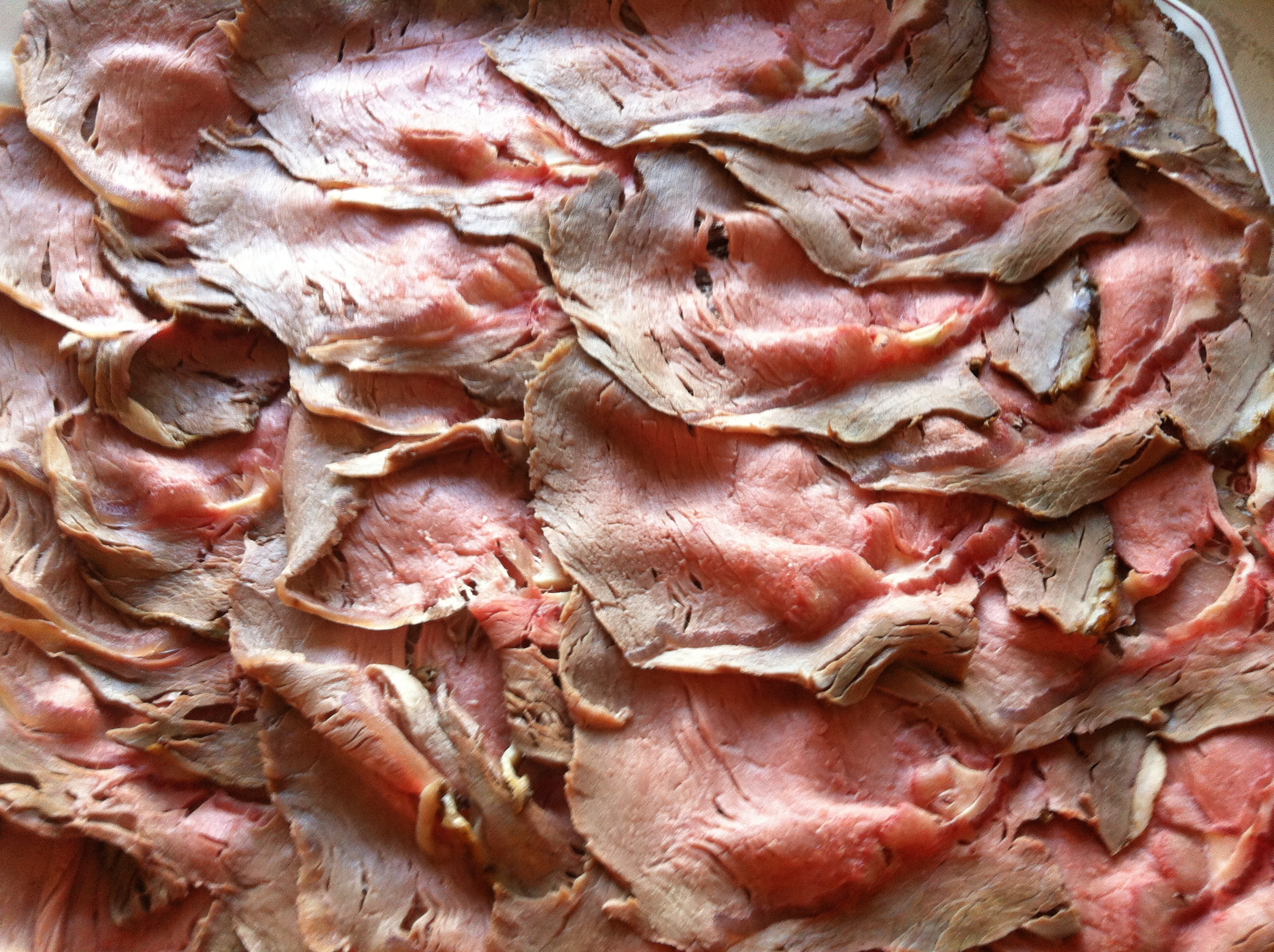 Sliced roast beef package - Rare Roast Beef Cooked And Sliced At The Pantry Is Often The Star Of Our