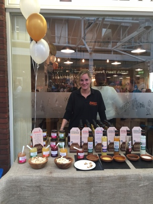 Scarlett & Mustards scrummy sauces, dressing and funky curds!