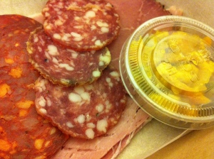 Local meats and home made piccalilli